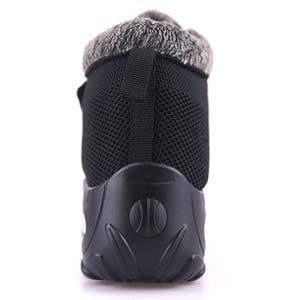 Image 5 - Winter Pelz Stiefel Frauen Schuhe Warme Gummi Ankle Schuhe Weibliche Keil Schuhe Casual Botas Mujer Frauen Turnschuhe Warme Große Größe 42