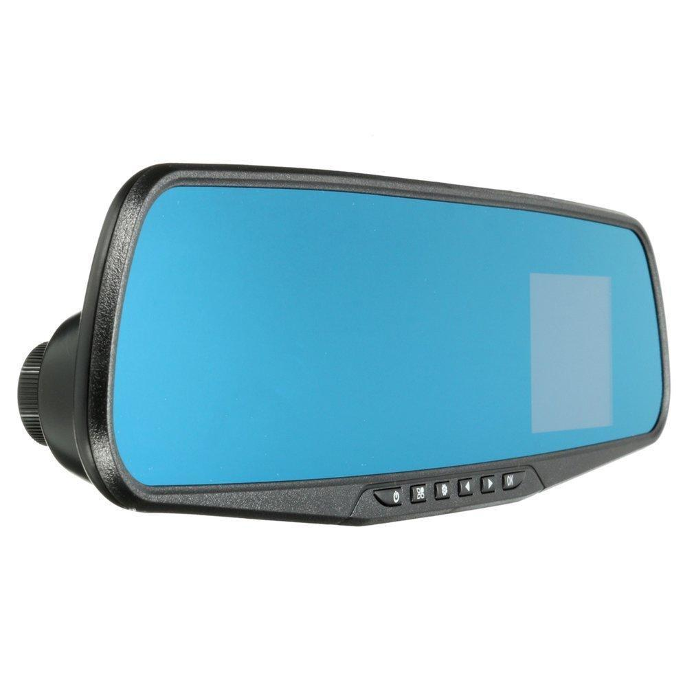 1080P HD Rearview Mirror Dash Cam Camera Video Recorder Night Vision Car DVR +