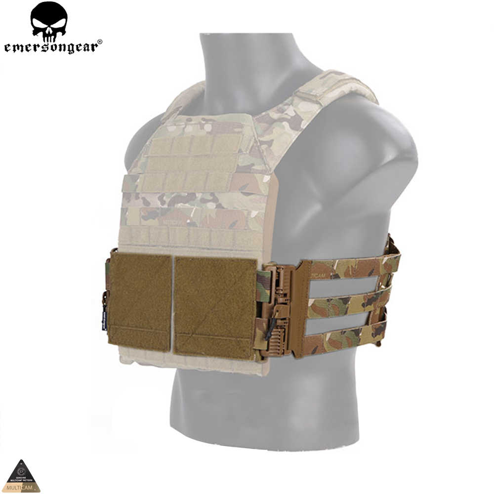 EMERSONGEAR Vest single point quick release Mesh Cummerbund for 419/420/JPC Vest Hunting Chest Rig Tactical Molle Vest EM7402