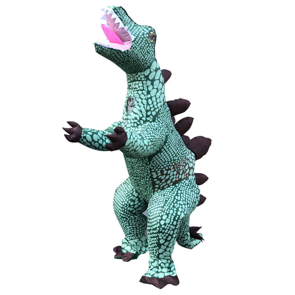 inflatable dinosaurs costumes halloween Stegosaurus Charizard Tyrannosaurus Party Dragon Costumes