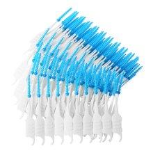200Pcs Soft Plastic Massage Gums Gingival Interdental Brush Toothpick Toothbrush Floss Dental Flosser Pick Tooth Clean Tool