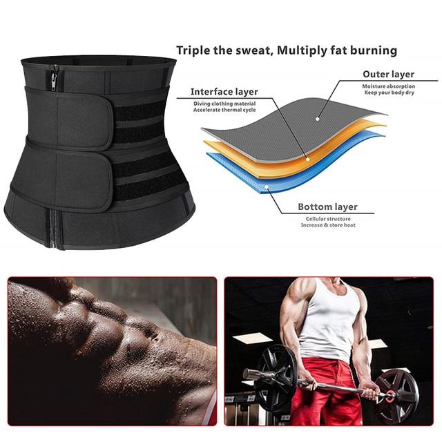Women Waist Trainer Neoprene Sweat Shapewear Body Shaper Slimming Sheath Belly Reducing Shaper Workout Trimmer Belt Corset 4