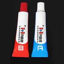 2 шт ab эпоксидный клей ясный сильный смола Пластик Стекло Сайлент