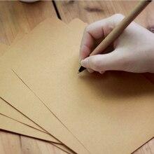 50 штук 120 г пустая бумага для письма ностальгическая для крафт-печати плотная бумага B5A4 A5 размер бумага для письма для карты Скрапбукинг подарки