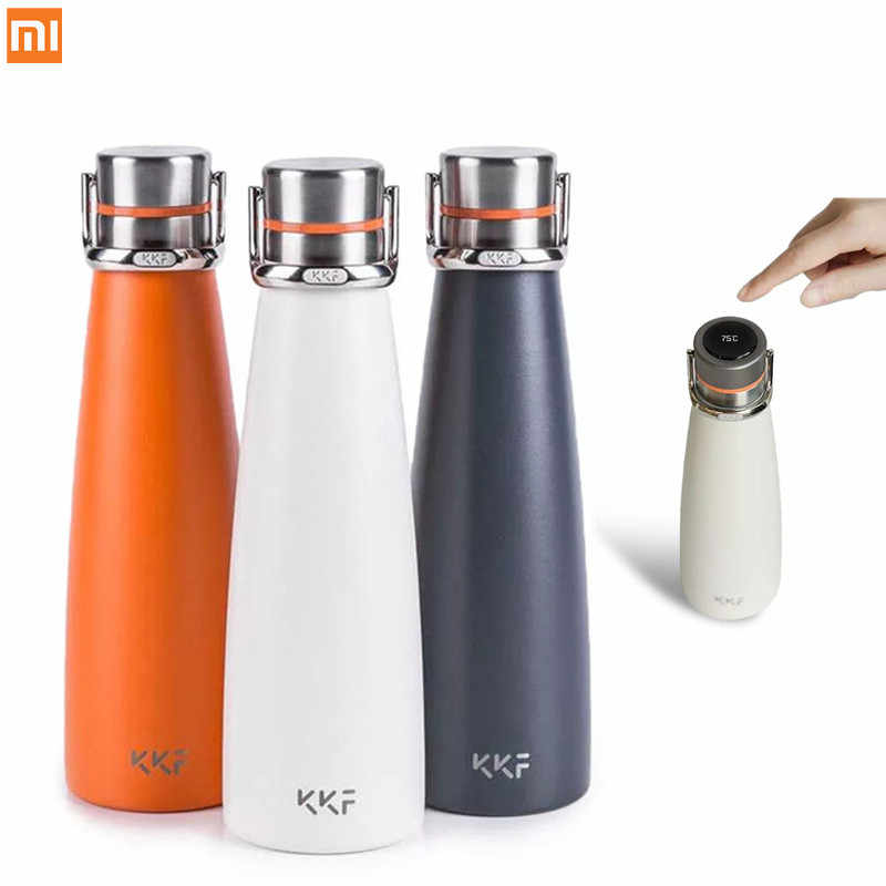 Original Xiaomi KKF Smart Vacuum Flask Portable Stainless Steel Insulation Vacuum Kettle Insulation Hot Water Bottle Thermos Cup
