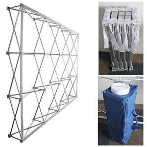 Image 2 - High GradePortable Aluminium Alloy Flower Folding Stand Wedding Backdrop   Stand Advertising Rainproof  Display Signature  Wall