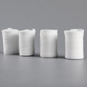 Cotton PBT Elastic Bandage Skin Friendly Breathable First Aid Kit Gauze Wound Dressing Medical Nursing Emergency Care Bandage 3