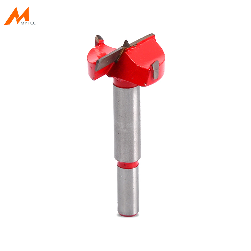 15mm - 53mm Forstner Woodworking <font><b>Drill</b></font> <font><b>Bits</b></font> Round Shank Carbon Steel Core Hole Drilling Tools for Wood Door Cabinet Hinges 35mm image