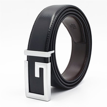 Hot Designer Men Women Belts New Genuine Leather Belt Fashion G Buckle Mens Luxury Strap Black Brown Male