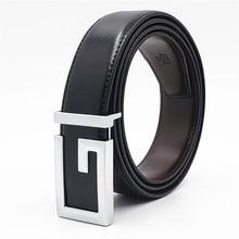 Hot Designer Men Women Belts New Genuine Leather Belt Fashion G Buckle Men's Belts Luxury Strap New Black Brown Male Belt петля стрела пс 210 бронза
