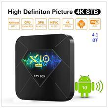 X10mini 스마트 TV 박스 안드로이드 10.0 Allwinner H313 쿼드 코어 1/2GB RAM 8G/16G ROM 미디어 플레이어 2.4G WiFi w/ BT4.1 지원 TF 카드