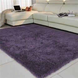 Sala de estar/quarto tapete antiderrapante macio 150cm * 200 cm tapete tapete moderno purpule branco rosa cinza 11 cor