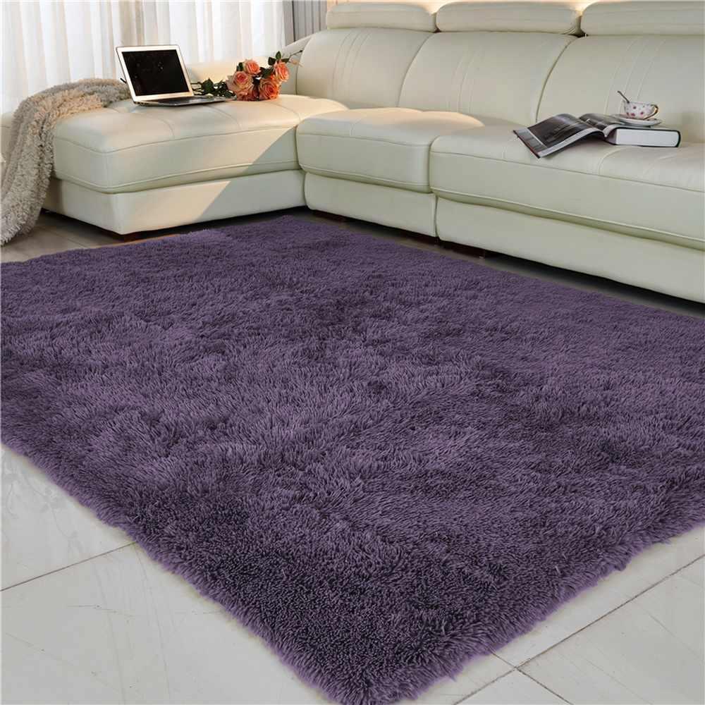 Salon/chambre tapis antidérapant doux 150cm * 200 cm tapis moderne tapis tapis purpule blanc rose gris 11 couleur