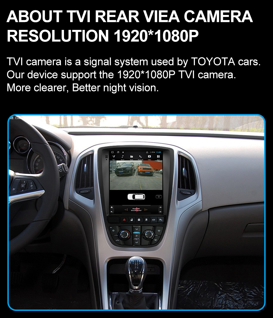 Android Para Opel Vauxhall Astra J Buick