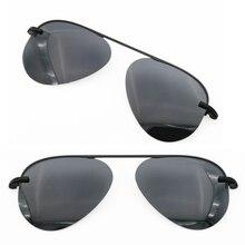Model No 3042 single clipping TAC polarized aviation sunglasses