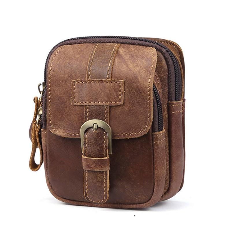 genuine leather Shoulder Messenger Bag Crossbody Satchel Travel Man/'s Bags