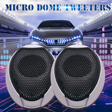 Car Universally Mini Dome Sensitive Clear High-efficiency Tweeter audio