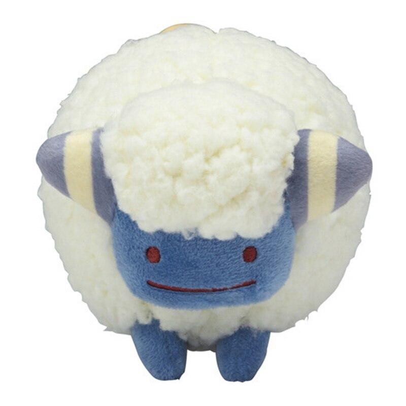 30cm*20cm Anime Pocket Animal Ditto Cosplay Mareep Stuffed Plush Dolls Wattouat Cushion Pillow Figure Toy Kids Gift TFA3257