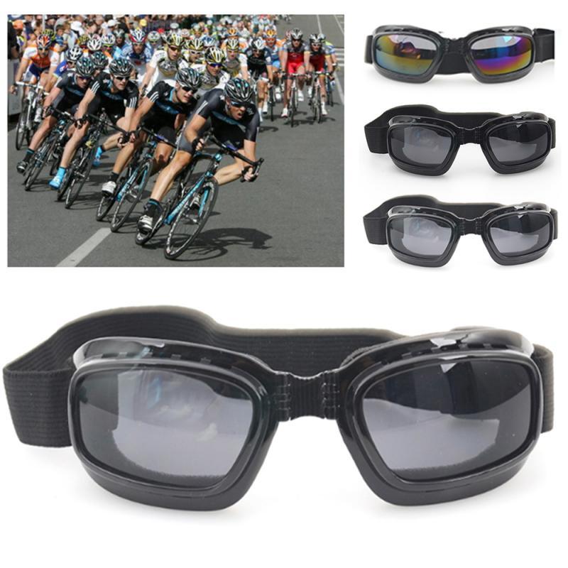 Motorcycle Glasses Anti Glare Motocross Sunglasses Sports Ski Goggles Windproof Dustproof UV Protection Off Road Eyewear