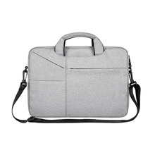 Laptop case apple case with single shoulder felt briefcase OPP bag Laptop bag portable computer bag mobile office
