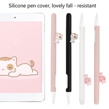 Cover Pencil-Holder Apple Soft-Silicone Kawaii for 2 1PC Protective-Sleeve-Case Animal