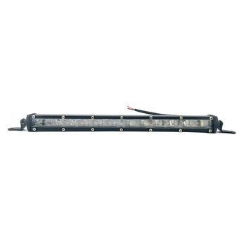 13 4 #8221 120 W 12000 lm Spot Beam Slim listwa świetlna led robocza jeden rząd aluminium dla samochodów SUV Off road lampy tanie i dobre opinie FY-UU Światła Linie 34 LED work light bar