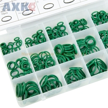 270 pcs O-Ring kit 18 sizes Green Metric Nitrile Rubber Assortment Tool Paintball Set O-ring box Rubber Washer kit 419pcs o ring o ring black rubber 32 sizes with case 3 50mm