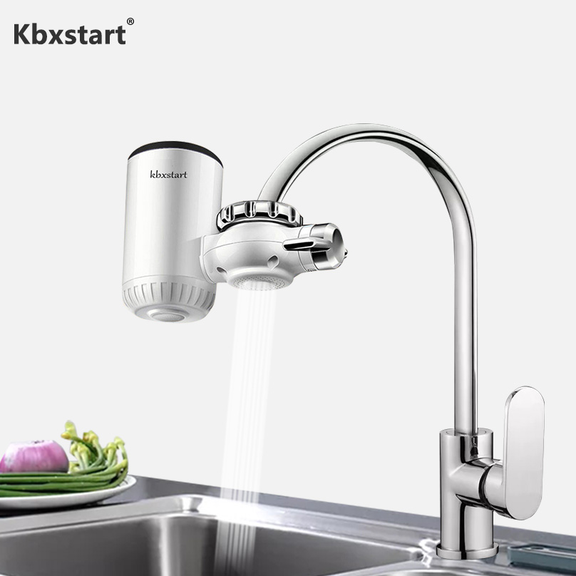 Bathroom Kitchen Instant Faucet Front Heater Fast Electric Water Heater Cold Hot Water Mixer Calefactor 2200W 3000W To Choose