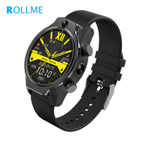 Rollme S08 1.69'' IPS Touch Screen Android Smart Watch 32G ROM Dual Side Camera IP68 GPS Wifi Multi Sport Mode Face ID Function