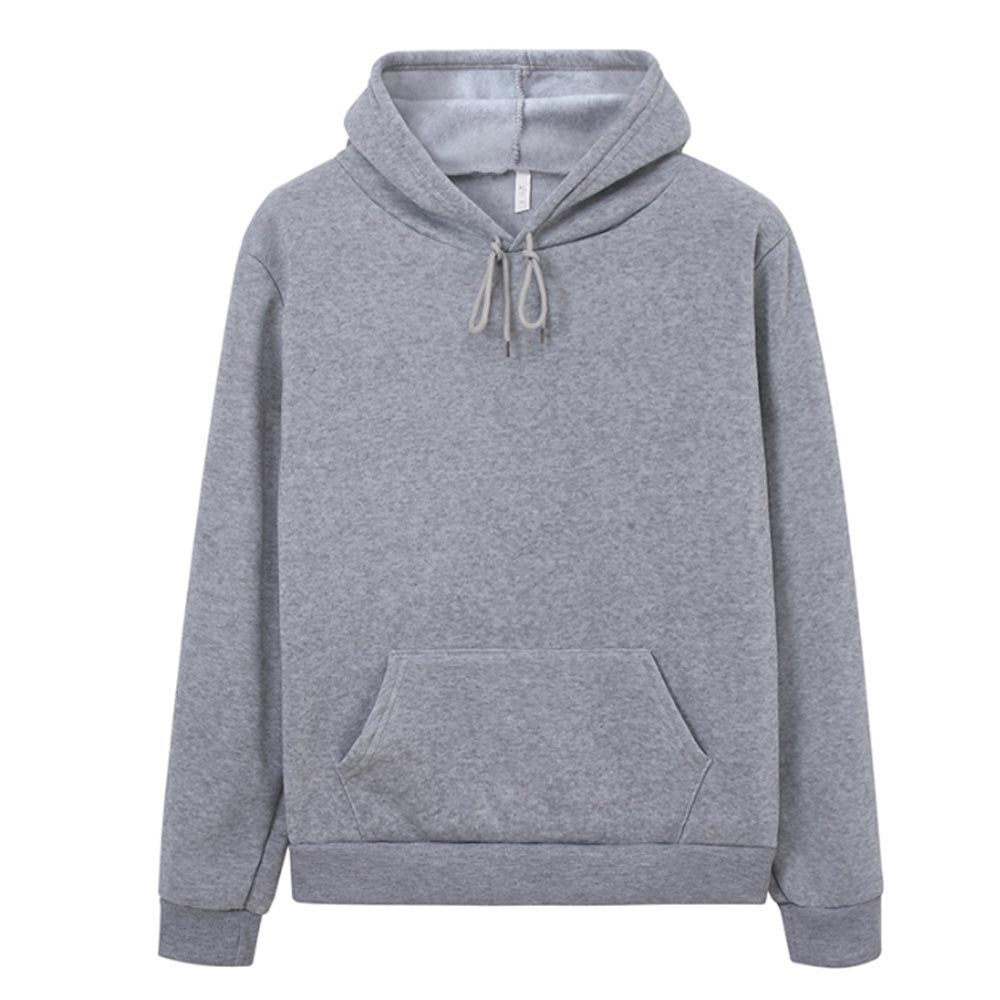 Hoodies Women Sweatshirt Casual Solid Colors Velvet Thickening Warm Tops 2020 Winter Long Sleeve Oversized Pullover With Pocket