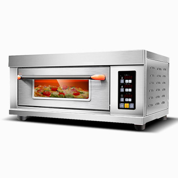 65L Electric/Gas Pizza Oven Stainless Steel Oven Baking Cookies Bread Oven Pizza Large Capacity Commercial Oven Machine