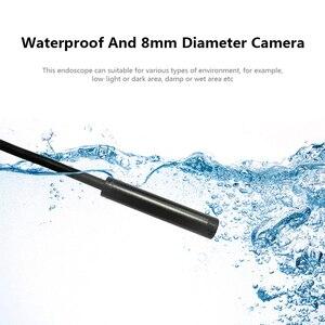 Image 5 - WIFI Macchina Fotografica Dellendoscopio IP68 di Controllo Impermeabile Periscopio 2MP 1200P HD Cavo Morbido Cavo del Disco Con 8 LED Per iOS android