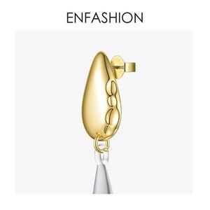 Image 5 - ENFASHIONหยดน้ำคริสตัลDropต่างหูสำหรับผู้หญิงสีทองยาวDangleต่างหูแฟชั่นเครื่องประดับDropshipping E191145