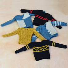 High Quality Handmade Casual Knitted Sweater Clothes For Barbie's Boyfriend Ken Doll Top Coat Clothes Male Doll Clothes Kid Toy