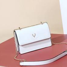 New summer Bag Girl 2021 new chain versatile ins fashion one shoulder cross small fresh square bag