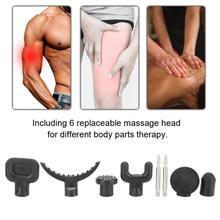Muscle-Massage-Head-Set Gun-Head Massager Gun Health-Care Electric-Body-Massager Body-Relaxation