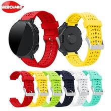 цена на Bracelet For Garmin Forerunner 235 Band Silicone Strap For Garmin Forerunner 220/230/235/620/630/735XT/235 Lite Accessory