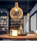 Wooded pendant Lamps...