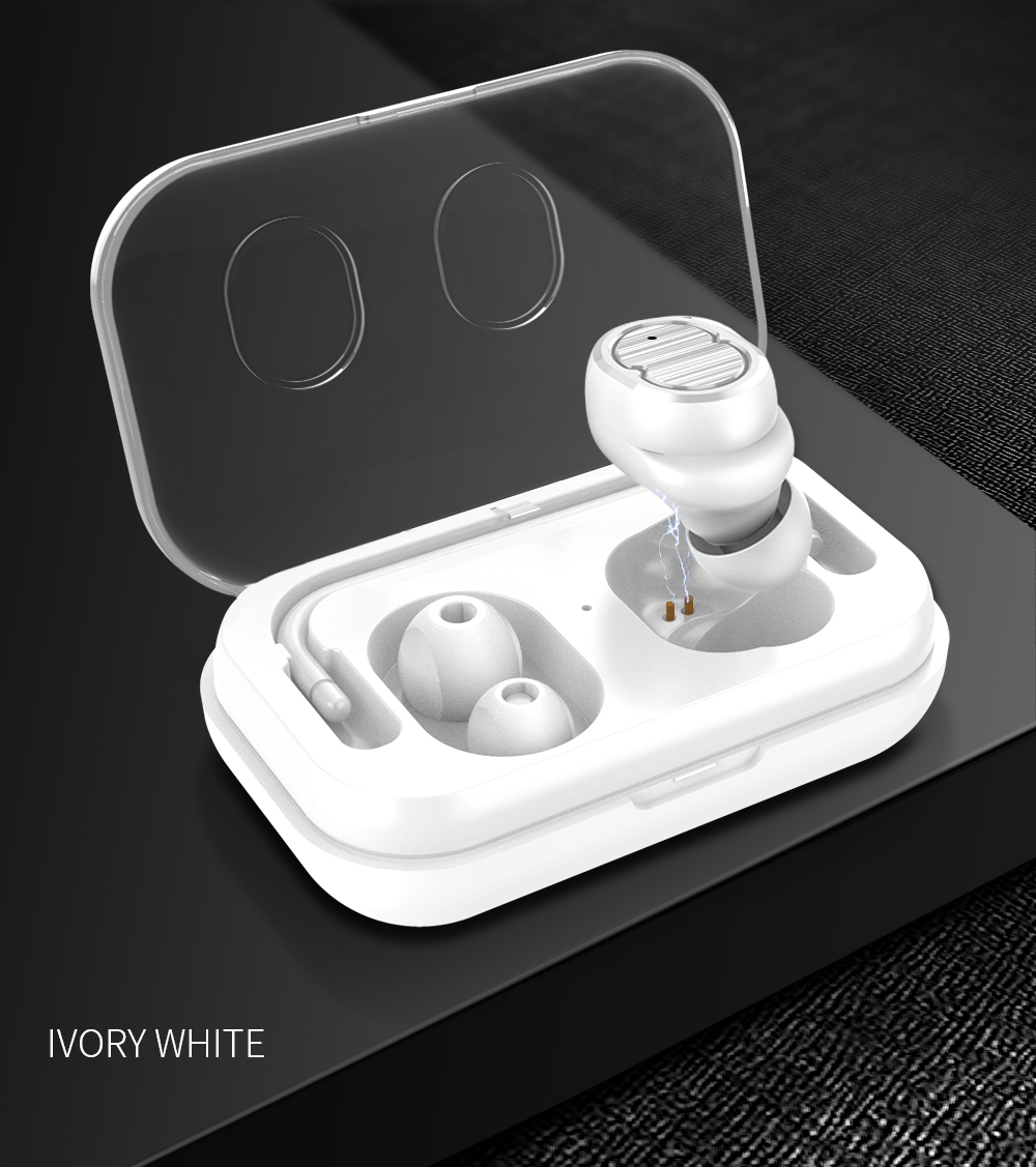 TWS Earbuds IPX6 Waterproof Earphone Power Bank Bluetooth 5 0 Earphones Earbud With Silicone Tips Earphone Case For Iphone Redmi in Bluetooth Earphones Headphones from Consumer Electronics