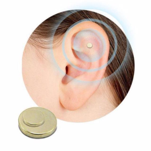 BellyLady 2Pcs Magnet Auricular Quit Smoking Acupressure Patch Stop Smoking Anti Smoke Patch Not Cigarettes Health Therapy 4