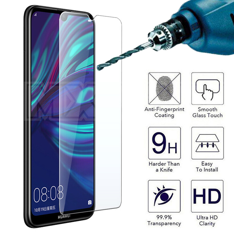 9H 0.22mm Protective Glass On The For Huawei P30 P20 Lite P20 Pro P10 Lite Plus P Smart Tempered Screen Protector Glass Film