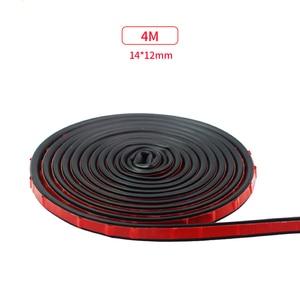 Image 2 - 4M 8M Big D Type Car Door Rubber Seal Filler Adhesive Noise Insulation Anti Dust Waterproof Weatherstrip Car Door Sealing Strip