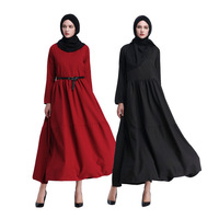Muslim Turkish Turkey Islamic Clothing Women Abaya Dress Robe Hijabs Kaftan Saudi Dubai Arab Malaysia Long Dress Female Outwear