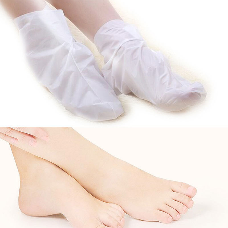 1/2/5 Pairs Foot Peel Mask Callus Remover Dead Skin Remover Foot Masks Moisturizing Feet Skin Care QS888 4