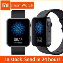 Xiaomi Reloj de pulsera inteligente Mi Watch con GPS, NFC, WIFI, ESIM, llamadas telefónicas, Android, deportivo, Bluetooth, Monitor de ritmo cardíaco