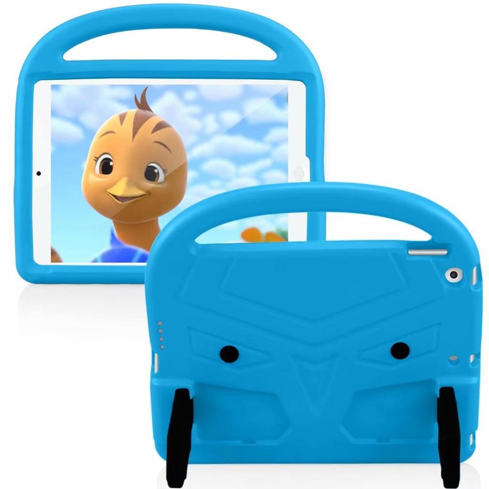 Blue Yellow EVA Silicon Coque for iPad Pro 11 2018 2020 Case Kids Cartoon Bird Shockproof A1980 A2230