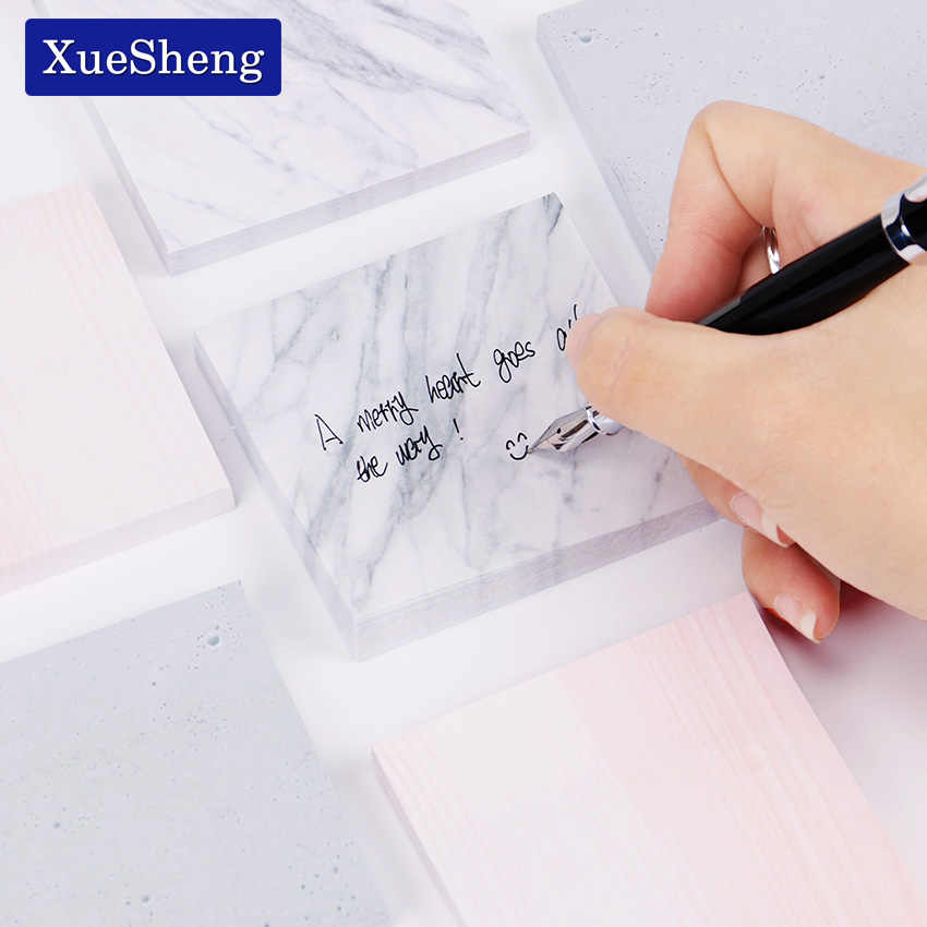 Cute Stone Memo Pad Kawaii Stationery Office Supplies  Diy School Scrapbooking Sticky Notes Planner Stationery 1PC