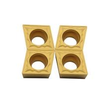 10pcs high quality CCMT09T304 HMP NC3020 External Turning Tools Carbide insert Lathe cutter Tool Tokarnyy turning insert