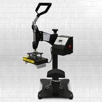 110v/220v baking cap stainless steel hot transfer stamping machine manual heat printing press desktop machine