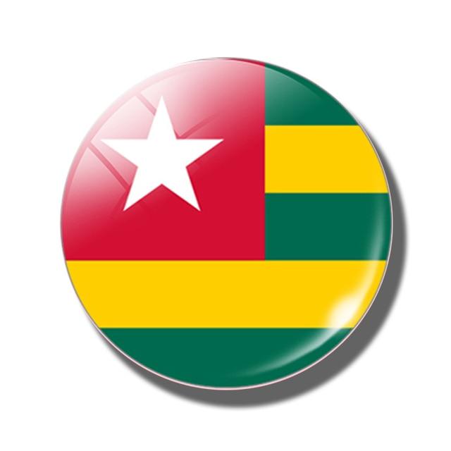 Flag of Burkina Faso FRIDGE MAGNET